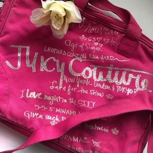 ✨Juicy Couture Laptop Bag w/ Strap ✨